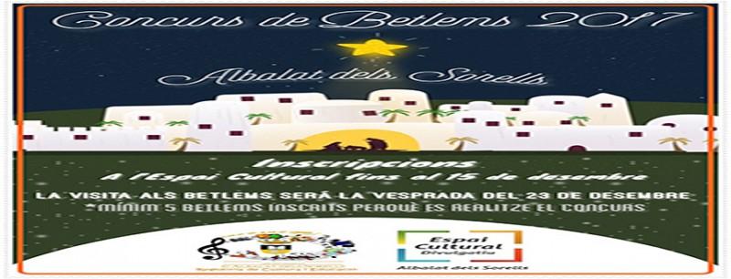 CONCURSO DE BELENES 2017 (CONCEJALÍA DE CULTURA Y EDUCACIÓN)