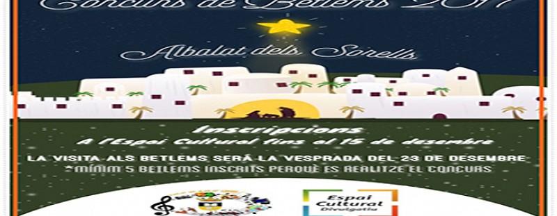 CONCURS DE BETLEMS 2017 (REGIDORIA DE CULTURA I EDUCACIÓ)