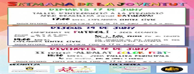 SETMANA DE LA JOVENTUT 2017 (REGIDORIA DE JOVENTUT)  (2)