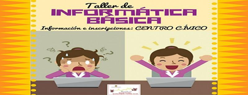INSCRIPCIONES AL TALLER DEINFORMÁTICA BÁSICA (CONCEJALÍA DE SERVICIOS SOCIALES)
